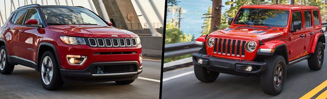 Jeep Compass Vs Jeep Wrangler: Comparison